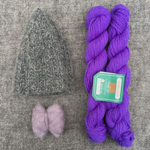 "Kit: ""Signal Rock"" hat - Violet"